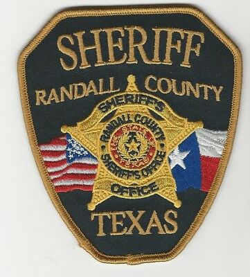 New Randall County sheriff State Texas TX shoulder patch