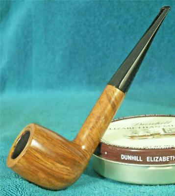 EXCELLENT! Comoy's SELECTED STRAIGHT GRAIN BILLIARD English Estate Pipe MUST SEE