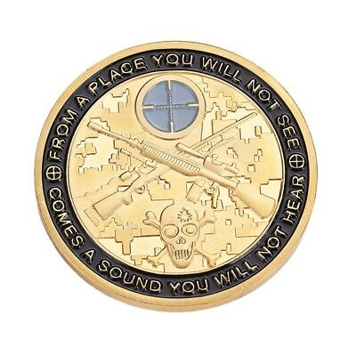 Noble Gold Sniper Commemorative Coins Christmas Gift