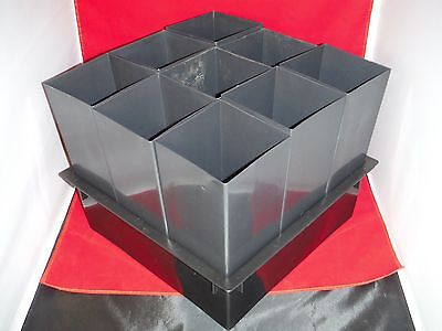 """x1 5"""" inch deep 14"""" wide flats trays x9 5"""" wide pots 12"""" tall orchid tree band"""