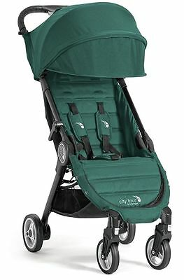 Baby Jogger City Tour Lightweight  Compact Travel Stroller Juniper w Bag NEW