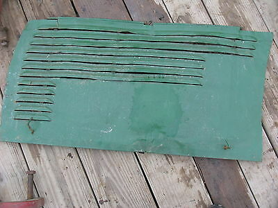Oliver Tractor 60 66  Hood Side Curtains Cover