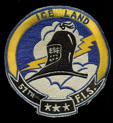 USAF 57th Fighter Interceptor Squadron Iceland FIS Patch S-11