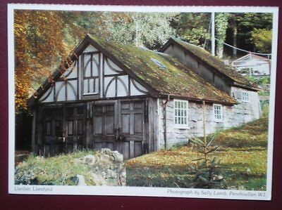 Postcard Anglesey Llanfair - Old Sheds