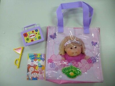 Cabbage Patch Kids assorted items including school case and carry bag