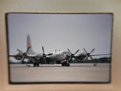 Usaf B-29 Superfortress  Original Kodachrome Slide - Dated Oct 67