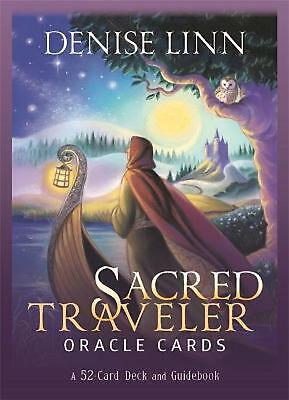 Sacred Traveler Oracle Cards: A 52-Card Deck and Guidebook by Denise Linn Free S
