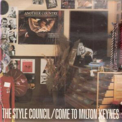 "STYLE COUNCIL Come To Milton Keynes 7"" VINYL UK Polydor 1985 Gatefold Pic"