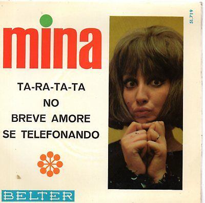 Mina, Ep, Ta-Ra-Ta-Ta + 3, Spanish Edit.1966