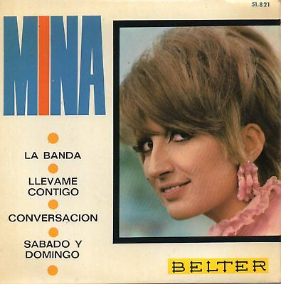 Mina, Ep, La Banda + 3, Spanish Edit.1967