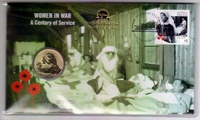 2017 Women in War A Century of Service $1 Coin - PNC - Sydney Money Expo 078/750