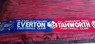 Everton v Tamworth Fa cup 3rd round scarf