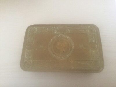 ww1 princess mary brass tin,original 1914