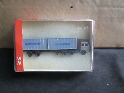 Wiking N51 Danzas Container Lorry (N-Gauge) Boxed