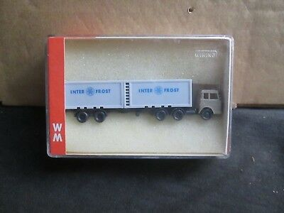 Wiking N51 Inter Frost Container Lorry (N-Gauge) Boxed