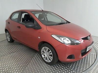 2007 Mazda 2 Ts Red 1.3 Petrol 5 Speed Manual Hatchback