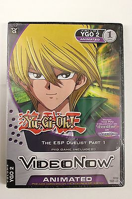 Yu-Gi-Oh! The ESP DUELIST PART 1 - VIDEO NOW - VOL 2 - NEW / SEALED + PVD GAME