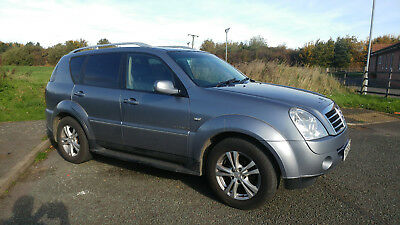 2012 SSANGYONG REXTON RX270 HDi 2.7 4x4 7 SEATER FULL DEALER SERVICE HISTORY