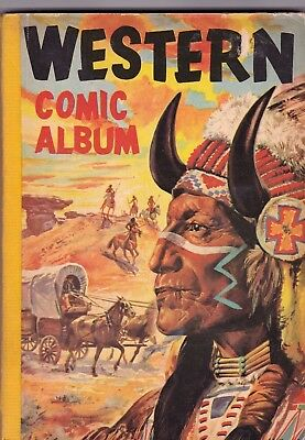 WESTERN COMIC ALBUM   #  5  1950s   BRITISH EDITION