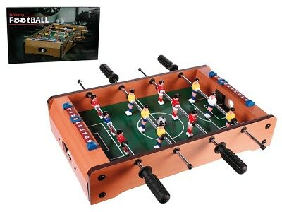 Kicker Football Table - Tabletop Kids Game Snooker Toy Christmas Gift Present