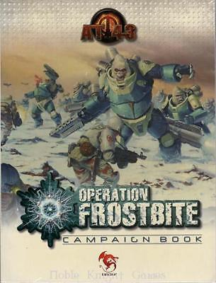 Rackham AT-43 Operation Frostbite Rulebook SC EX