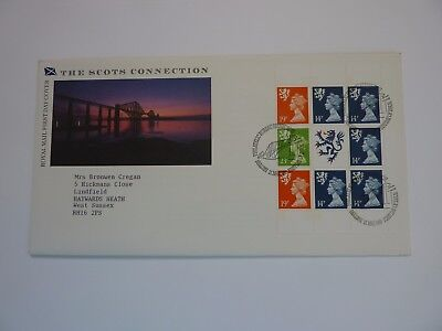 The Scots Connection 1989 FDC