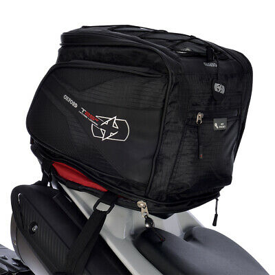 OXFORD T25 Tailpack / Deluxe Helmet Carrier Lifetime Motorcycle Luggage - OL338