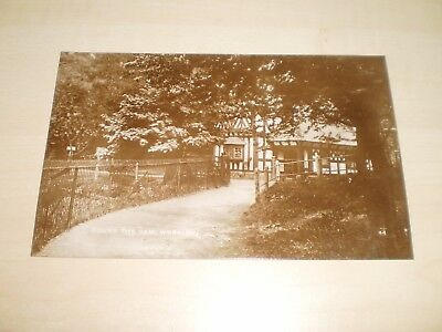 1919 Real Photo Postcard Of Worsley Round The Dam