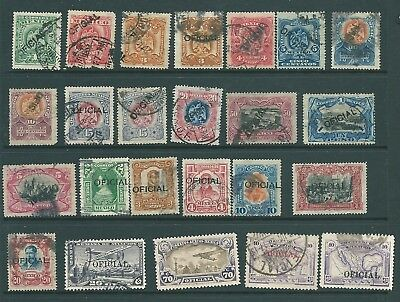 MEXICO - 1899-1930 stamp collection of OFFICIALS