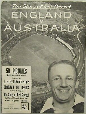 THE STORY OF TEST CRICKET:  ENGLAND  vs  AUSTRALIA  (1948) - INVINCIBLES !!