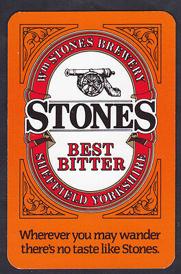 Stones Best Bitter,W M Stones Brewery Sheffield Yorkshire,Single playing Card
