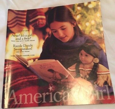 American Girl Catalog Holiday 2002