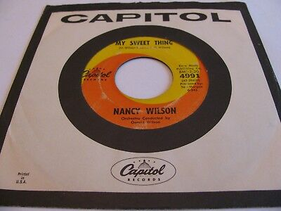 Nancy Wilson - My Sweet Thing / Tell Me The Truth - Capitol