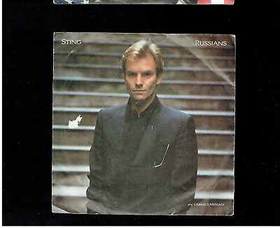 Sting Russians Ps 45 1985