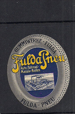 Germany Advertising Automobile Poster stamp Collection lot Fulda Pneumatic Tires