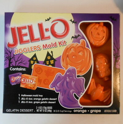 NEW - Jell-o Jigglers Halloween Mold Kit - Jello
