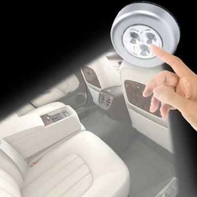 Newly 3 LED Light Battery Powered Tap Push Stick Touch Night Emergency Car Lamp