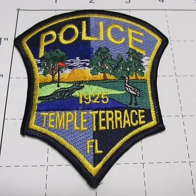 Temple Terrace Police Dept Ttpd City  Alligator Trees Tt Colorful Florida  Patch