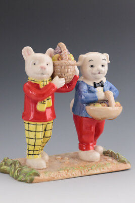 Lovely Royal Doulton Rupert Bear figure -  Where Did You Get Such Fruit? RDB 24