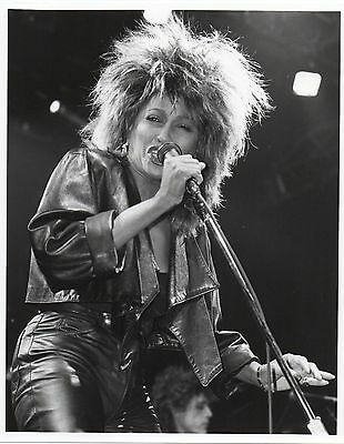 Tina Turner Close Up Photo 1985 Unique Unreleased Image Huge 12 Inch London Gem