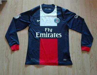 PSG , Paris Saint-Germain L/S player issue  shirt , jersey , maillot 2013 - 2014