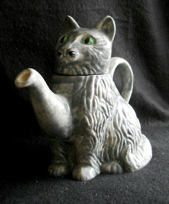 Grey Cat Teapot Designed By Tony Carter