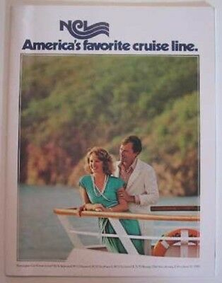 NORWEGIAN CRUISE LINE BOOKLET - SS Norway, Others- DECK PLANS Loaded with PHOTOS