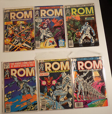 Marvel Bronze Age ROM Spaceknight lot of 63 Comic Books
