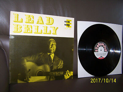 Leadbelly LP Lead Belly Storyville Blues Anthology Vol. 7