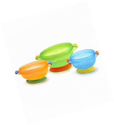 NEW Munchkin Stay Put Suction Bowl, 3 Count