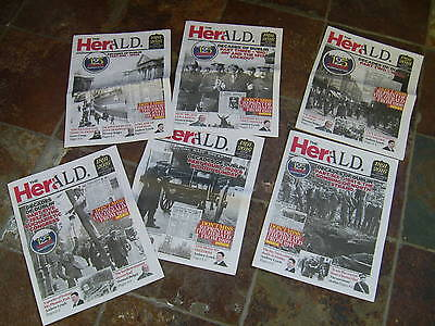 Evening Herald 10 PART SETS CELEBRATING 1891-2016-REPRINT  - IRELAND-