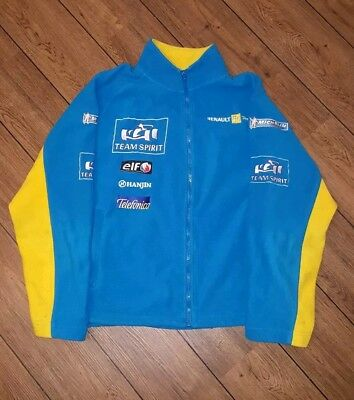 Official Renault Formula 1 Team Spirit 2005 fleece size: Large