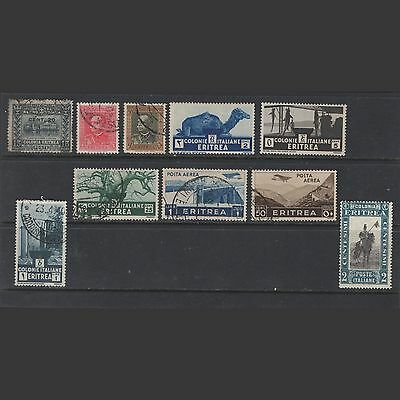 ERITREA : small lot of stamps -- mint & used --