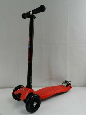 Micro Scooters Maxi Micro 3 Wheels Push Scooter MM0037 Toy 6-12Yrs Classic Red